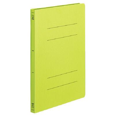 コクヨ フラットファイルPP製 A4タテ背幅20mm 黄緑 フ-H10-3YG 30冊