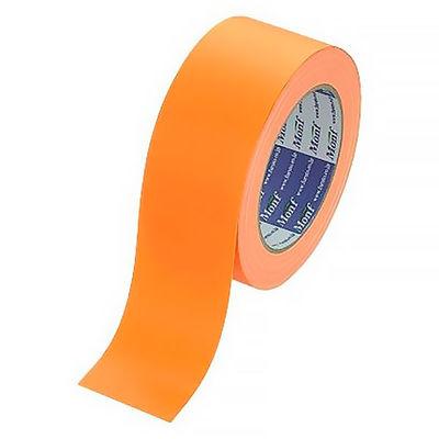 Monf カラー布テープ No.890カラー 0.22mm厚 50mm×25m巻 オレンジ 1セット(5巻:1巻×5) 古藤工業