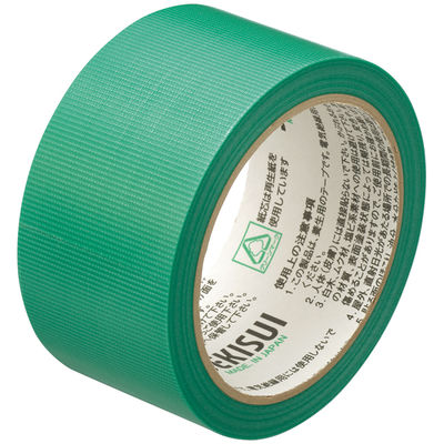 積水化学工業 フィットライトテープ No.738 グリーン 幅50mm×25m巻 N738m04 1セット(5巻:1巻×5)