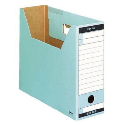 ファイルボックス A4横 青 5個