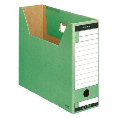 ファイルボックス A4横 緑 5個