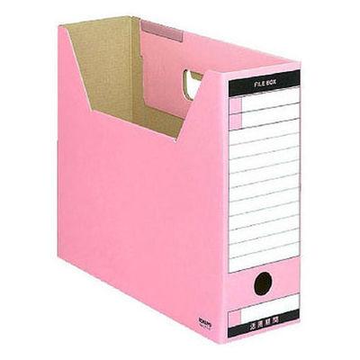 ファイルボックス A4横 ピンク 5個