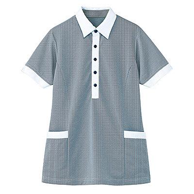 カーシーカシマ 半袖ロングプルオーバー(男女共用) 5L HM-2669-2-5L (取寄品)