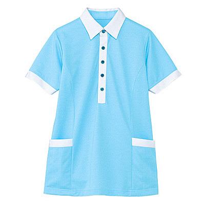 カーシーカシマ 半袖ロングプルオーバー(男女共用) 4L HM-2669-6-4L (取寄品)