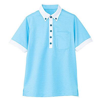 カーシーカシマ 半袖ポロシャツ(男女共用) 3L HM-2679-6-3L (取寄品)