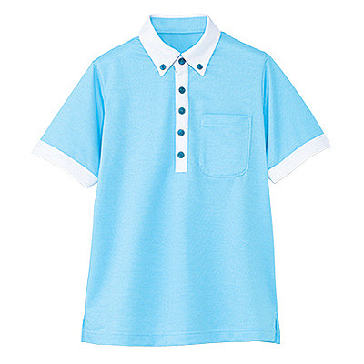 カーシーカシマ 半袖ポロシャツ(男女共用) M HM-2679-6-M (取寄品)