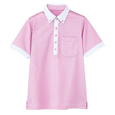 カーシーカシマ 半袖ポロシャツ(男女共用) LL HM-2679-9-LL (取寄品)