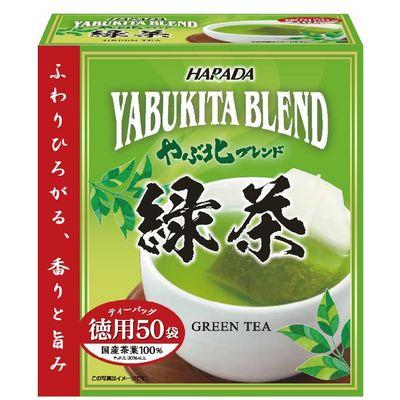 やぶ北ブレンド徳用緑茶ティーバッグ1箱