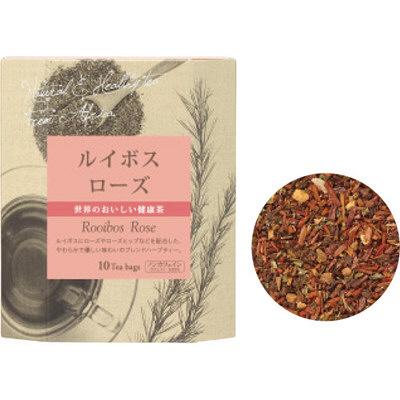 生活の木 健康茶 ルイボスローズ10個