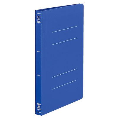 フラットファイルPP製 A5縦 青10冊
