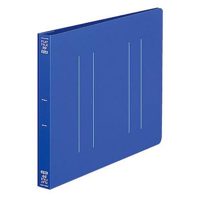 フラットファイルPP製 A5横 青10冊