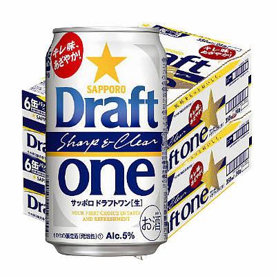ドラフトワン 350ml 48缶