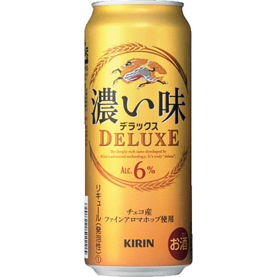 濃い味デラックス500ml×24缶