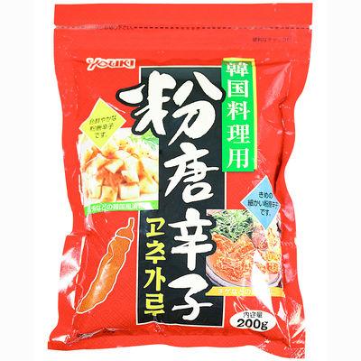 粉唐辛子(韓国料理用) 200g