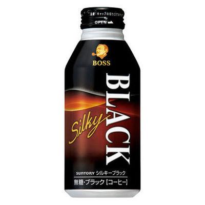 ボス シルキーブラック 400g 48缶