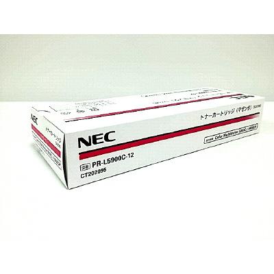 NEC レーザートナーカートリッジ PR-L5900C-12 マゼンタ (取寄品)