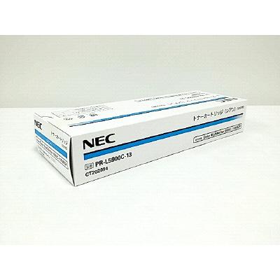 NEC レーザートナーカートリッジ PR-L5900C-13 シアン (取寄品)