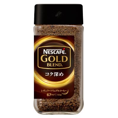 ゴールドブレンド コク深め135g