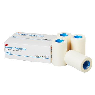 スリーエム ジャパン マイクロポアTMサージカルテープ 75mm×9.1m 1530ー3 1箱(4巻入)
