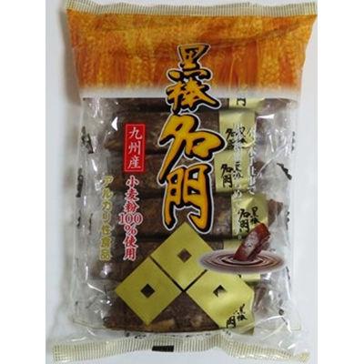 クロボー製菓 黒棒名門12本 黒砂糖味