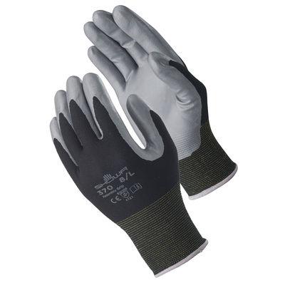 ショーワグローブ 「現場のチカラ」 簡易包装組立グリップブラック Mサイズ 黒 MRO-370MB 1セット(30双)