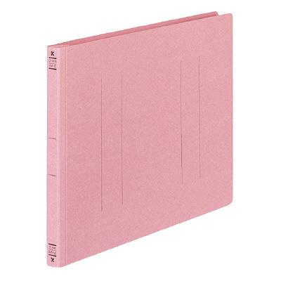フラットファイル A4横 ピンク 30冊
