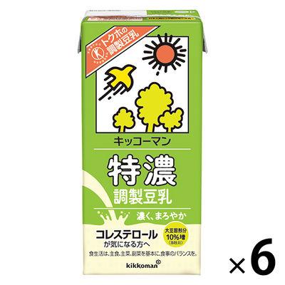 特濃調製豆乳 1000ml 6本
