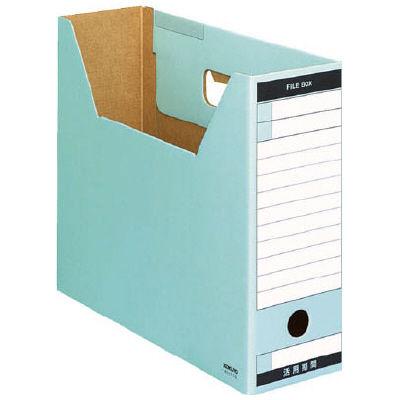 ファイルボックス A4横 青 50個