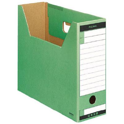 ファイルボックス A4横 緑 50個