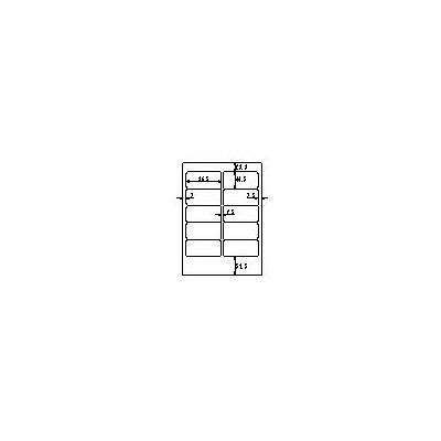 プラス ワープロ&パソコンラベル WT-502S (直送品)
