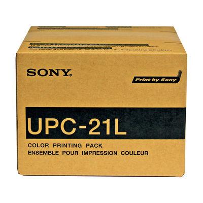 ソニー カラープリントパック (L) UPC-21L 1箱(50枚×4パック入)