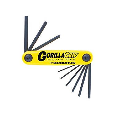 ボンダス ナイフ型ツール ゴリラグリップ9本組(インチ) HF9S