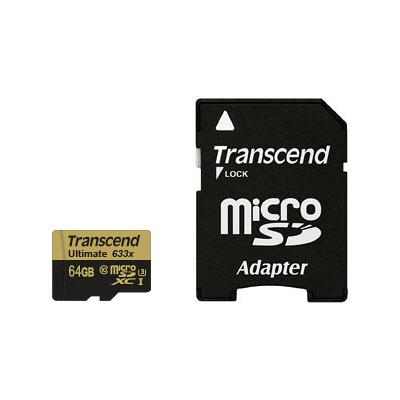 microSDXCカード 64GB UHS-I U3対応 TS64GUSDU3