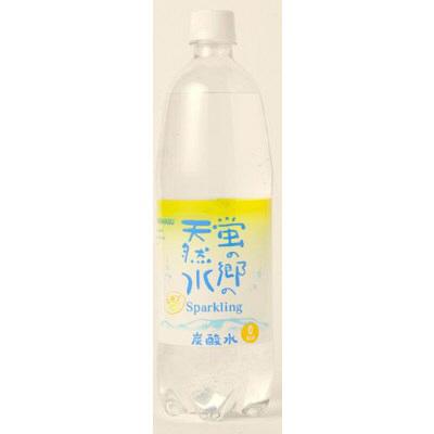 蛍の郷の天然水スパークリングレモン 1L