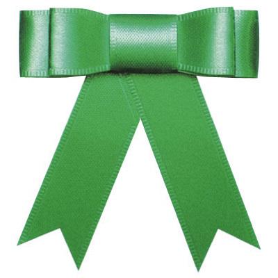 リボン 緑 幅15mm 50個