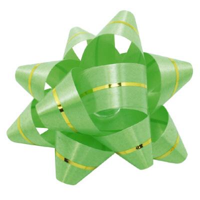 リボン 緑 幅12mm 100個