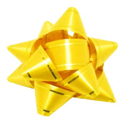 リボン 黄 幅18mm 50個