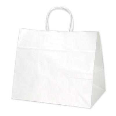 ギフトバッグ 白 幅広小 50枚