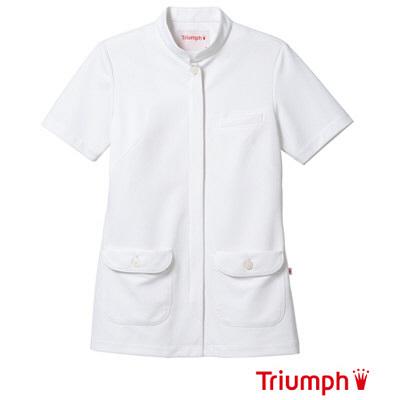 【メーカーカタログ】 サンペックスイスト トリンプ ジャケットTPFー110 ホワイト LL TPF-110-WH 1枚  (取寄品)