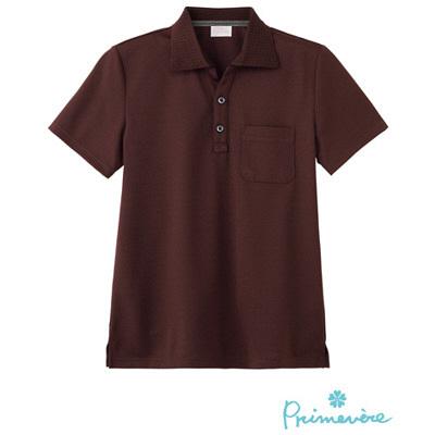 【メーカーカタログ】 サンペックスイスト ポロシャツPCー703 ブラウン L PC-703-BR 1枚  (取寄品)