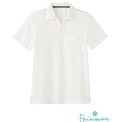 【メーカーカタログ】 サンペックスイスト ポロシャツPCー703 ホワイト L PC-703-WH 1枚  (取寄品)