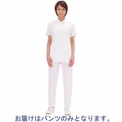 アイトス ナースパンツ(ストレート) 861356-001 ホワイト 6L (直送品)