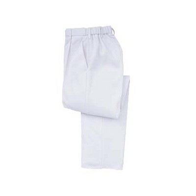 トンボ キラク ケアワークパンツ ホワイト  S CR631-01 1枚  (取寄品)