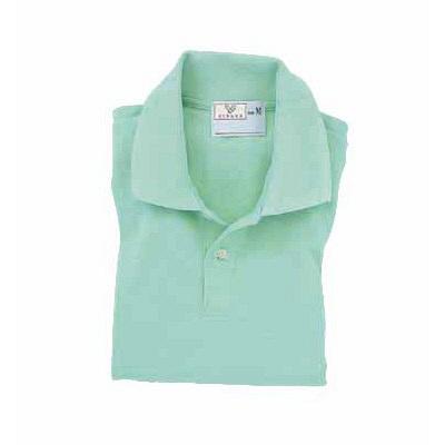 トンボ キラク ポロシャツ  ミント  M CR053-40 1枚  (取寄品)