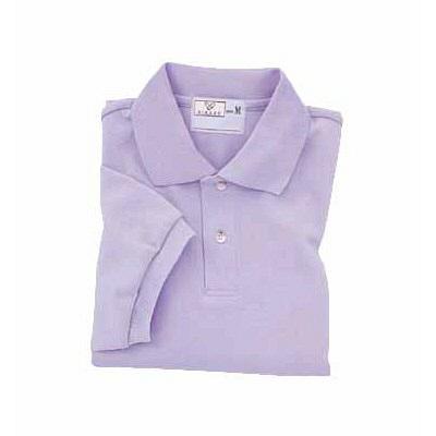 トンボ キラク ポロシャツ  ラベンダー  M CR053-80 1枚  (取寄品)