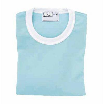 トンボ キラク Tシャツ サックス  S CR055-70 1枚  (取寄品)