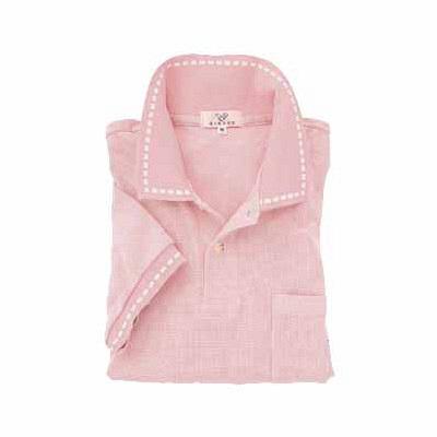 トンボ キラク ポロシャツ  オーキッドピンク L CR065-13 1枚  (取寄品)