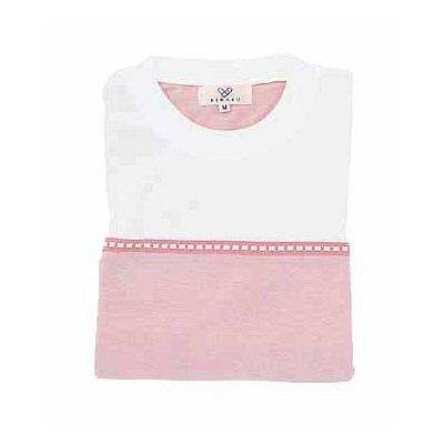 トンボ キラク Tシャツ オーキッドピンク  L CR066-13 1枚  (取寄品)