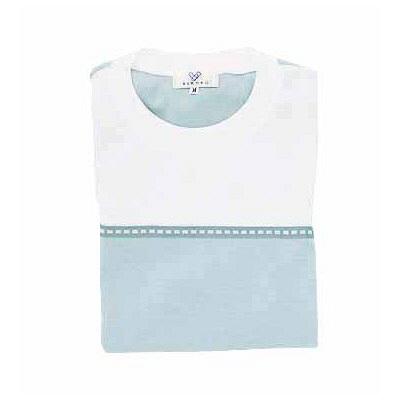 トンボ キラク Tシャツ ブルー  S CR066-72 1枚  (取寄品)