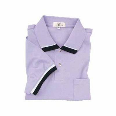 トンボ キラク ポロシャツ  ラベンダー  LL  LL CR072-80 1枚  (取寄品)